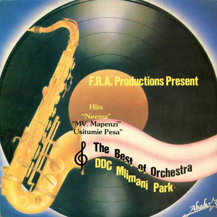 AHDLP 6002 The Best of Orchestra DDC Mlimani Park front cover